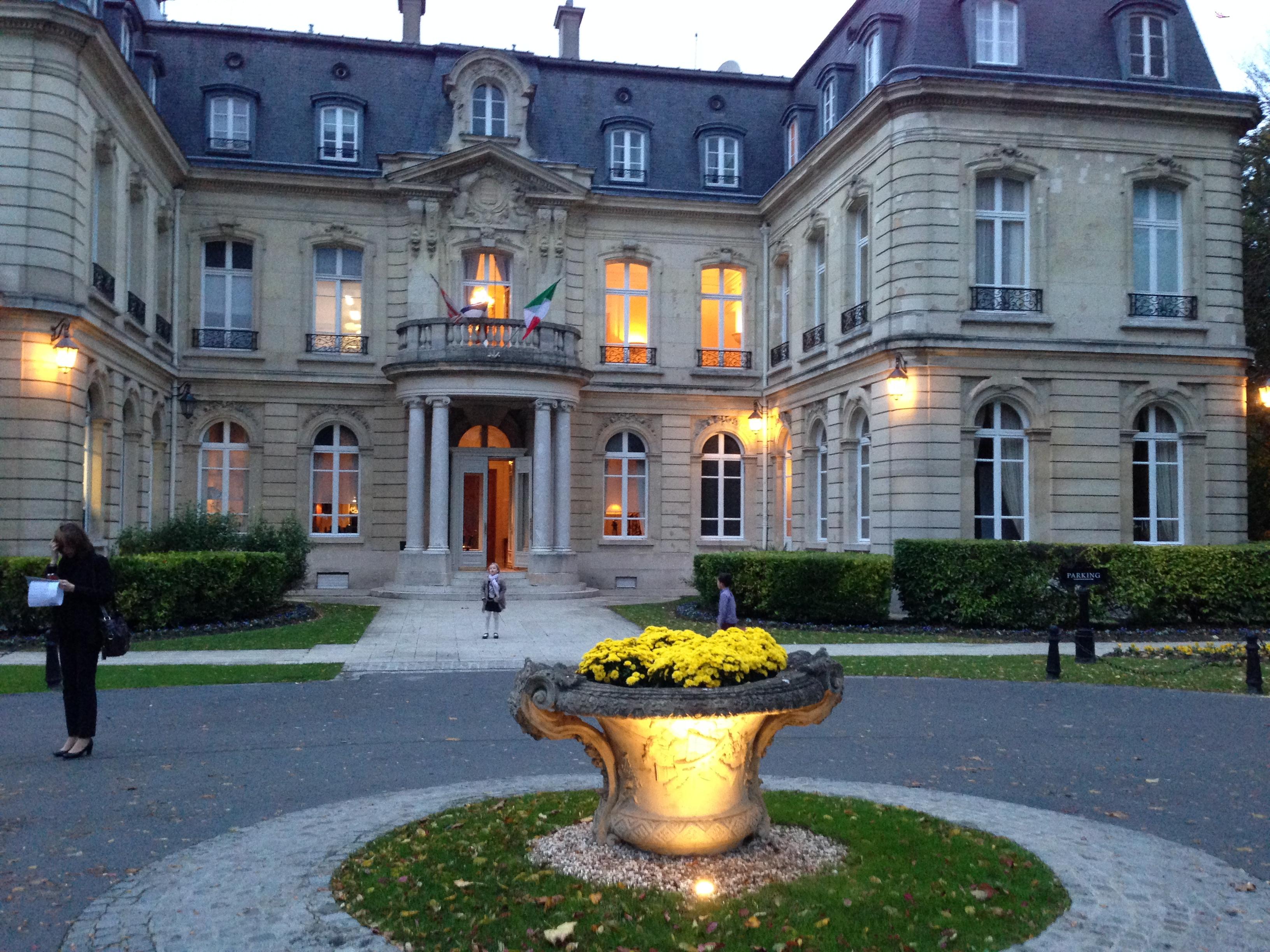 Reims le domaine des cray res le luxe est aussi dans la cuisine c 39 est comment - Restaurant le jardin reims crayeres ...